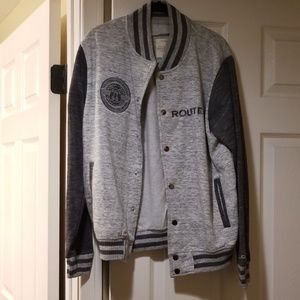 Route 66 cotton bomber jacket